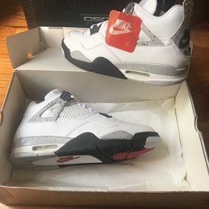 "Air Jordan 4 Retro 1999 Release ""White Cement"""